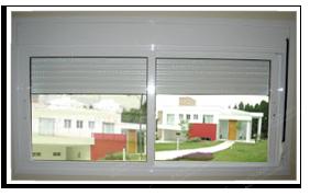 janela persiana integrada